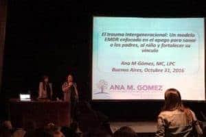 EMDR Iberoamerica Congress   Buenos Aires, Argentina  (2016)