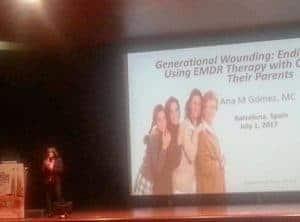 "Keynote ""EMDR Europe Conference (Congress)"" 2017 Barcelona, Spain"